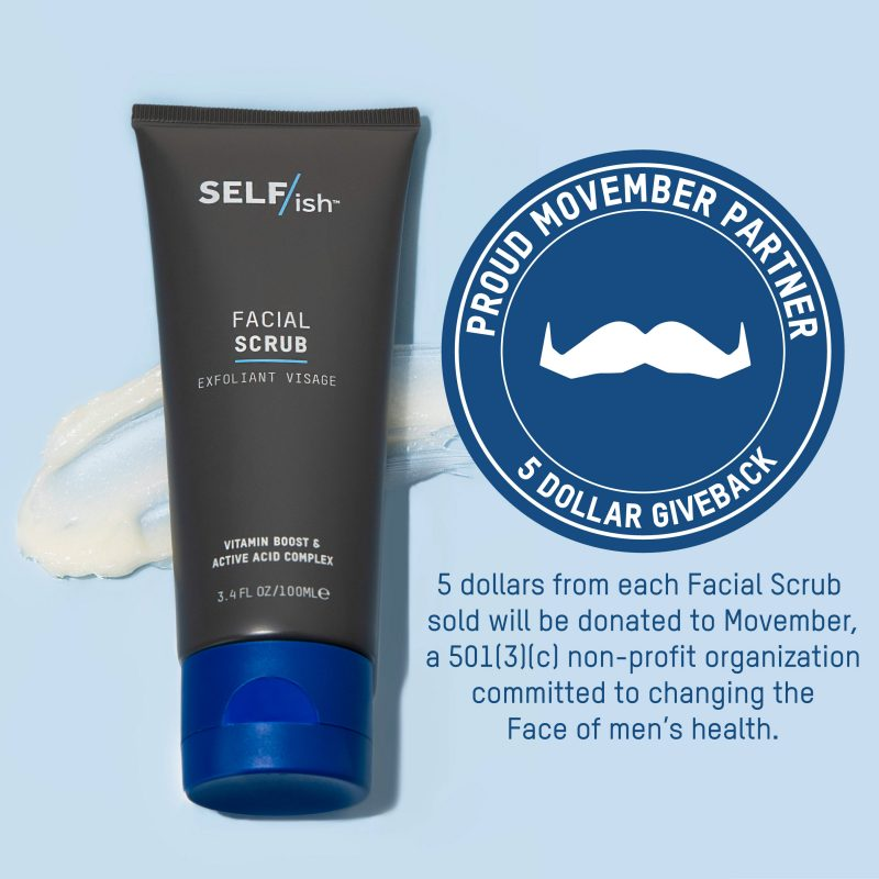 Rich results on Google's SERP when searching for 'Men's Skincare Movember'