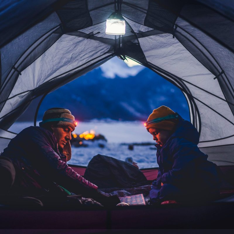 Rich results on Google's SERP when searching for 'Light Diffusing Camping Gear'