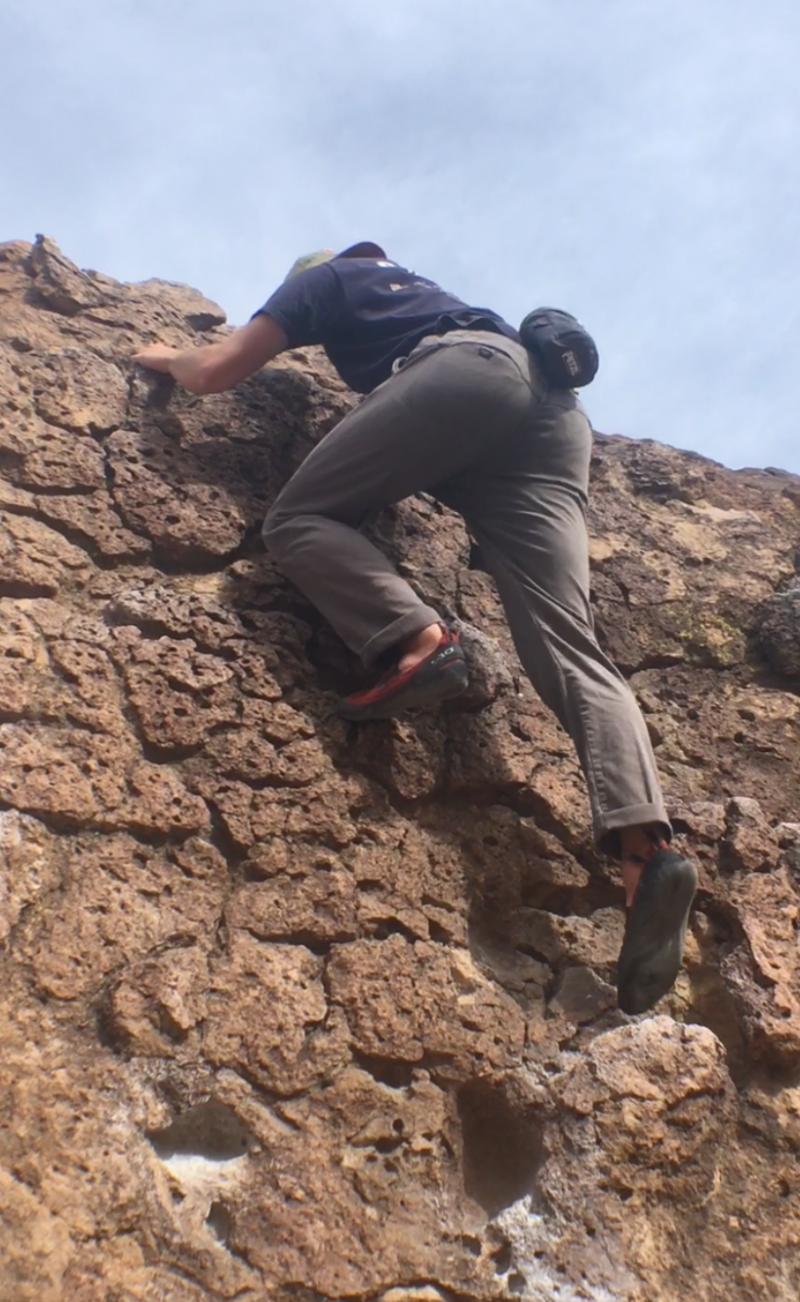 Climbing Happy Boulders