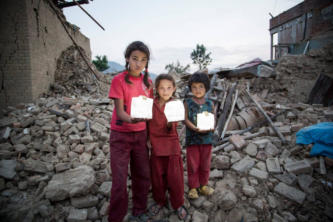 Solight Providing light to children after a disaster