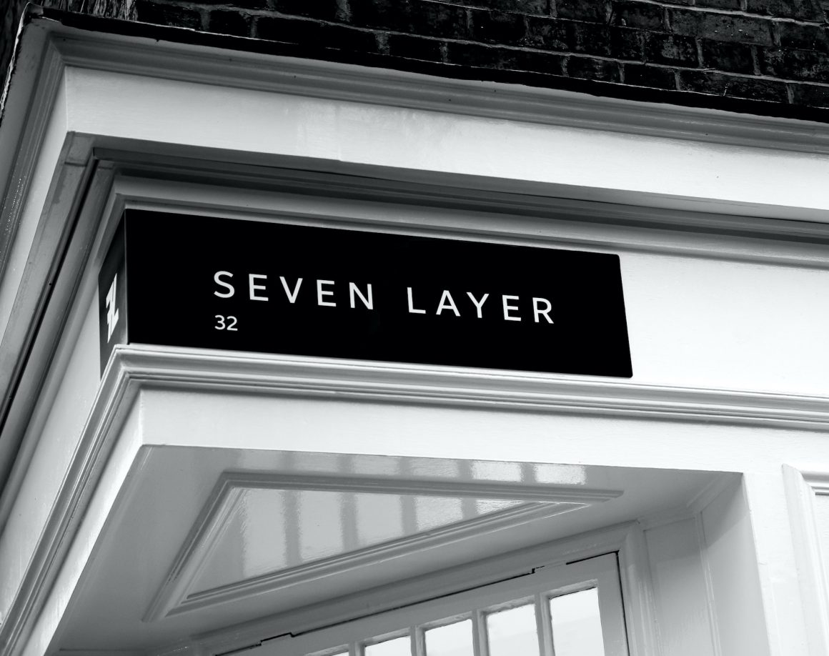 seven layer store front
