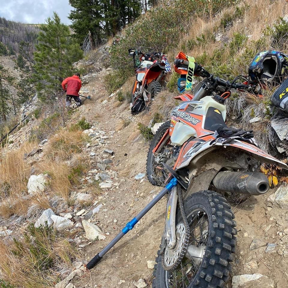 BF Goodrich tread lightly motorcycles